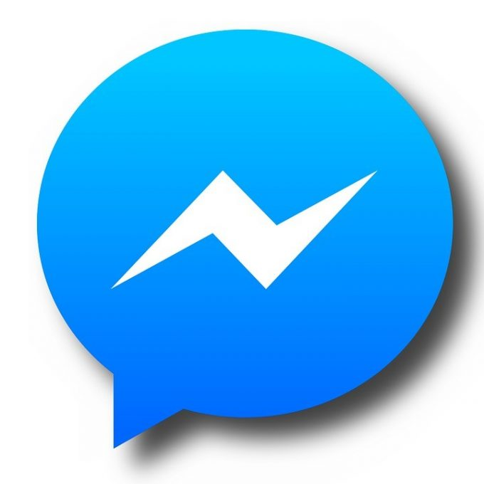 Send to Messenger button